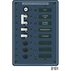 Panel 120VAC 2pos w/ELCI Main 30A
