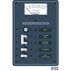 Panel 120V 2pos w/ELCI Main 30A VMtr