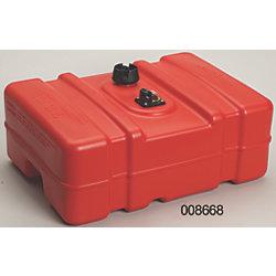 12 Gallon Low Profile Portable Plastic Fuel Tank