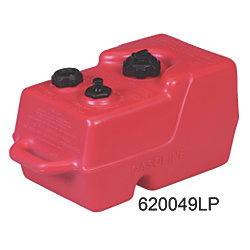 6 Gallon EPA and Carb Compliant Portable Plastic Fuel Tank