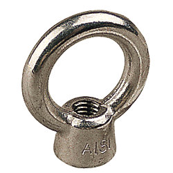 STAINLESS EYE NUT - 1/4 IN