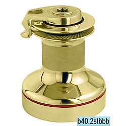 WINCH-2 SPD ST POLISHED BRONZE