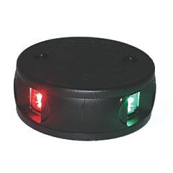 LED BI-COLOR DECK MOUNT, BLACK