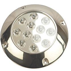 SS WTRPROF LED LT RND 12 HI PWR LED (2)