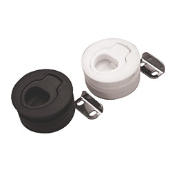 FLUSH MOUNT SLAM LATCH 2-7/16IN BLK