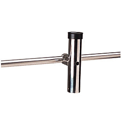 SS ROD HOLDER RAIL MT 7/8 TO 1IN