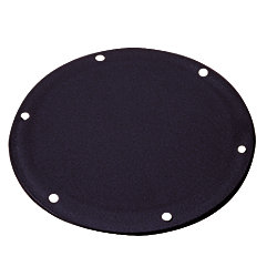 6-3/8IN BLK DECK INSPECTION PLATE