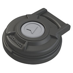 FOOT SWITCH COMPACT COVERED BLK