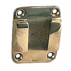 POLISHED BRZ WALL PLATE F/8IN 0158/0422