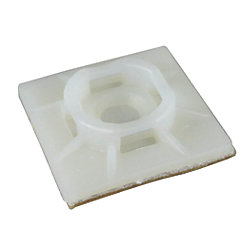 ADHESIVE MOUNTING BASE, NATURAL, 5PC