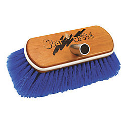 MED WASH BRUSH-WOOD BLOCK W/BUMPER BRUSH