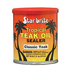 TROPICAL TEAK OIL/SEALER CLASSIC 16 OZ