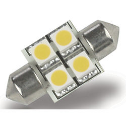 FESTOON 4 LED BULB WARM WHT