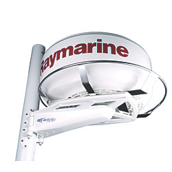 Stainless Steel Radome Guard - Sailboat