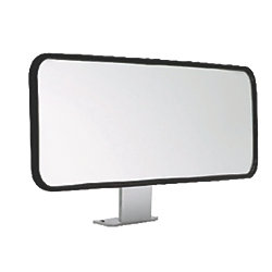 Wide View Ski Mirror