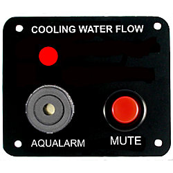 Single Engine Cooling Water Flow Panel