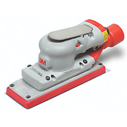 "Elite Air 2-3/4"" x 7-3/4"" Random Orbital Sander - Central Vacuum Ready"