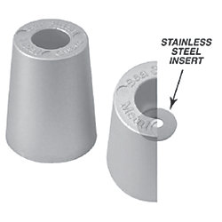 Beneteau Metric Replacement Prop Nut Anodes - Zinc