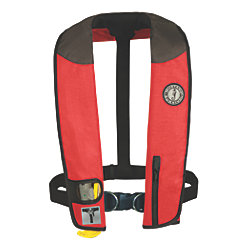 Discontinued: Deluxe Manual Inflatable PFD w/ Harness