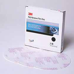 Stikit Film-Backed Red Finishing Discs - 260L