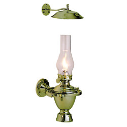 ATLANTIC GIMBAL OIL LAMP/SMOKE BELL