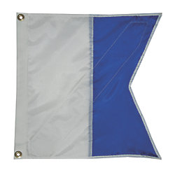 Alpha Dive Flag