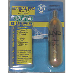840AMU Manual Inflatable PFD CO2 ReArming Kit