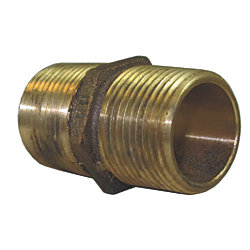Bronze Hex Pipe Nipple