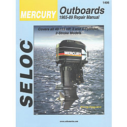 Engine Manual - Mercury Outboard - 3-4 Cylinder 1965 - 1989