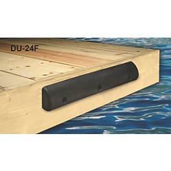 "No Longer Available: Small Flat Back Heavy Duty Dock Bumpers - 4-1/2"" Height"