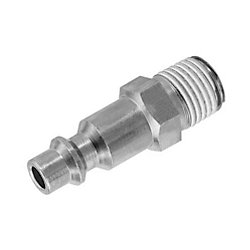"Industrial Profile 1/2"" Body MNPT Plug"