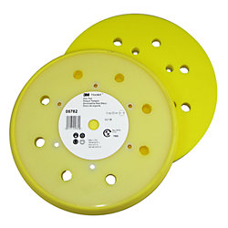 "Hookit 8"" Specialty Medium Firm Dust Free Disc Pad - 6-Hole Mount"