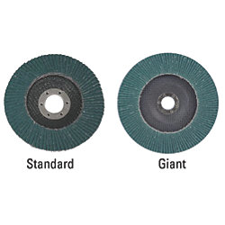 "577F Performance Flap Discs - Standard & ""Giant"" Versions"