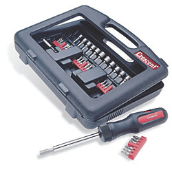 34-Piece Dura Driver Ratchet Set