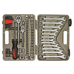 70-Piece Mechanics Tool Set