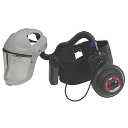 GVP-PSK2 Model PAPR with Vesaflo Faceshield - Powered Air Purifying Respirator