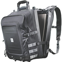 U100 Black Elite Storage Backpack for Laptop