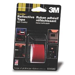 Scotchlite Reflective Tape - Red