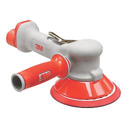 2-Handed Air Random Orbital Sander - Central or Non-Vacuum