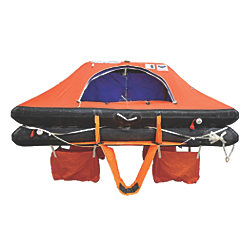 Type DK+ Offshore Commercial Life Rafts - 4 to 8 Person Models