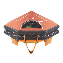 Type DK+ Offshore Commercial Life Rafts - 10 to 25 Person Models