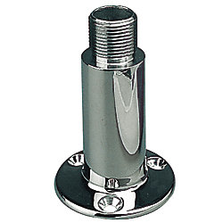 STAINLESS FIXED ANTENNA MOUNT, 4IN