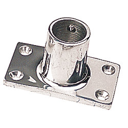 STAINLESS 90 RECTANGULAR BASE 1IN