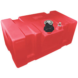 22 GA Topside Fuel Tank, Red