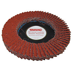 "SandBlaster Coarse 36 Right Angle Grinder Multi-Layer Disc - for 4-1/2"" or 5"" Grinders"