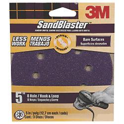 Hookit SandBlaster Dust Free Sanding Discs - Retail Packs