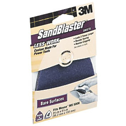 SandBlaster Sheets for Mouse Sanders - 4-Pack