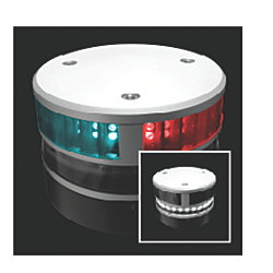 Tri-Color Navigation Lights - for Sailing Vessels Up to 65.6 ft