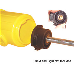 ESL I Life Jacket Strobe Light Threaded Adaptor Base
