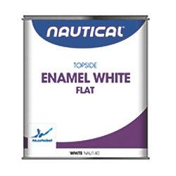 Flat White Enamel